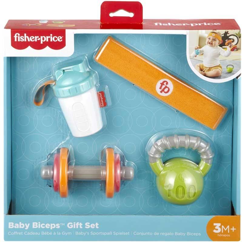 Conjunto de Atividades com Mordedor - Baby Mini Músculos - Fisher-Price