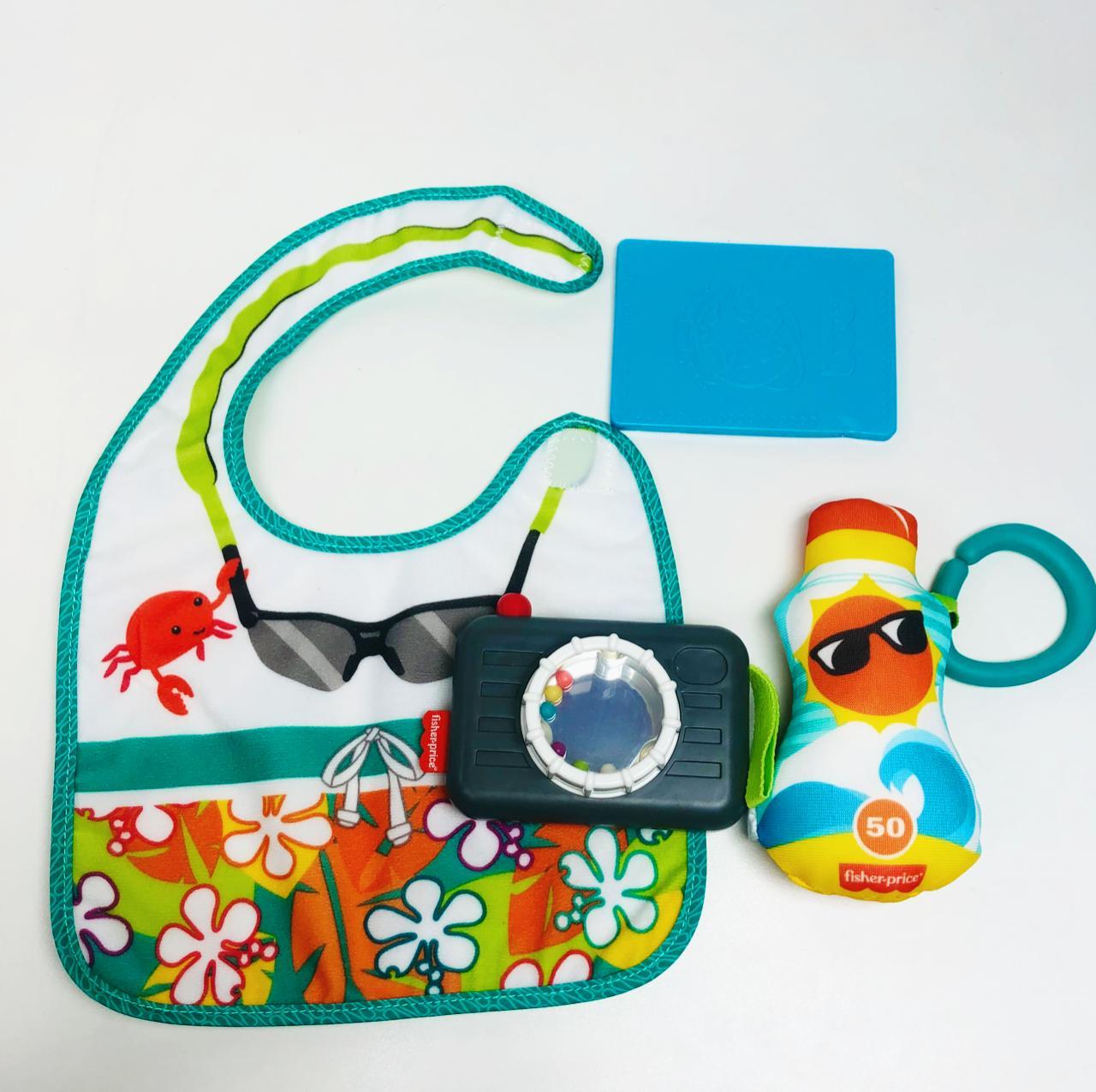 Conjunto de Atividades com Mordedor - Baby Mini Turista - Fisher-Price