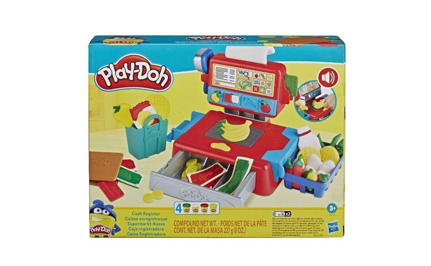 Conjunto De Massa De Modelar Play-Doh Caixa Registradora Hasbro