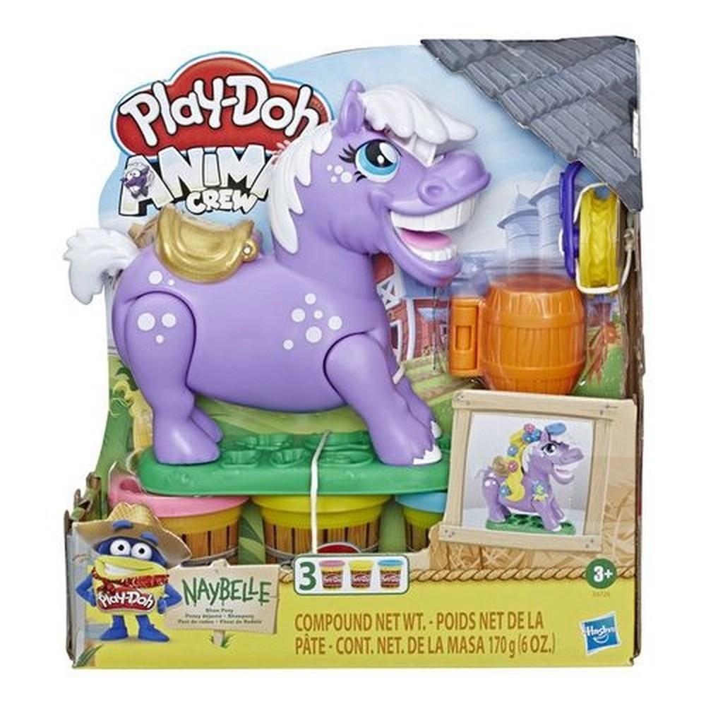 Conjunto Massa De Modelar Play Doh Fazenda Ponei De Rodeio Hasbro
