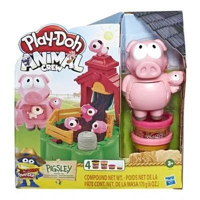Conjunto Massa De Modelar Play Doh  Fazenda Porquinhos Brincalhões Hasbro