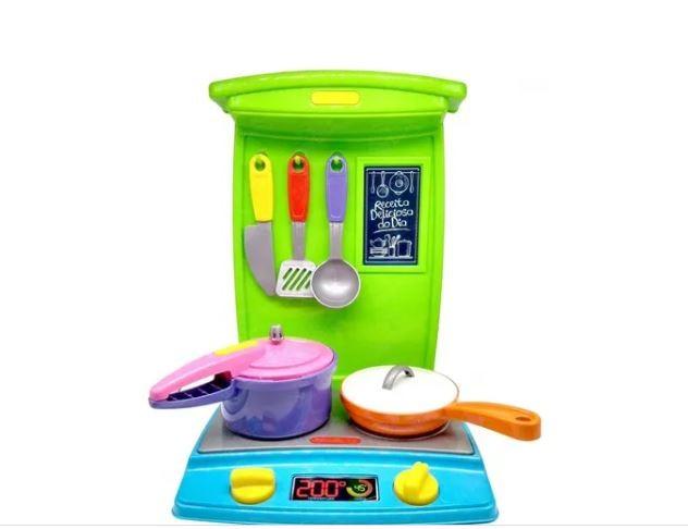 Conjunto Master Cozinha Bia Chef Infantil Poliplac