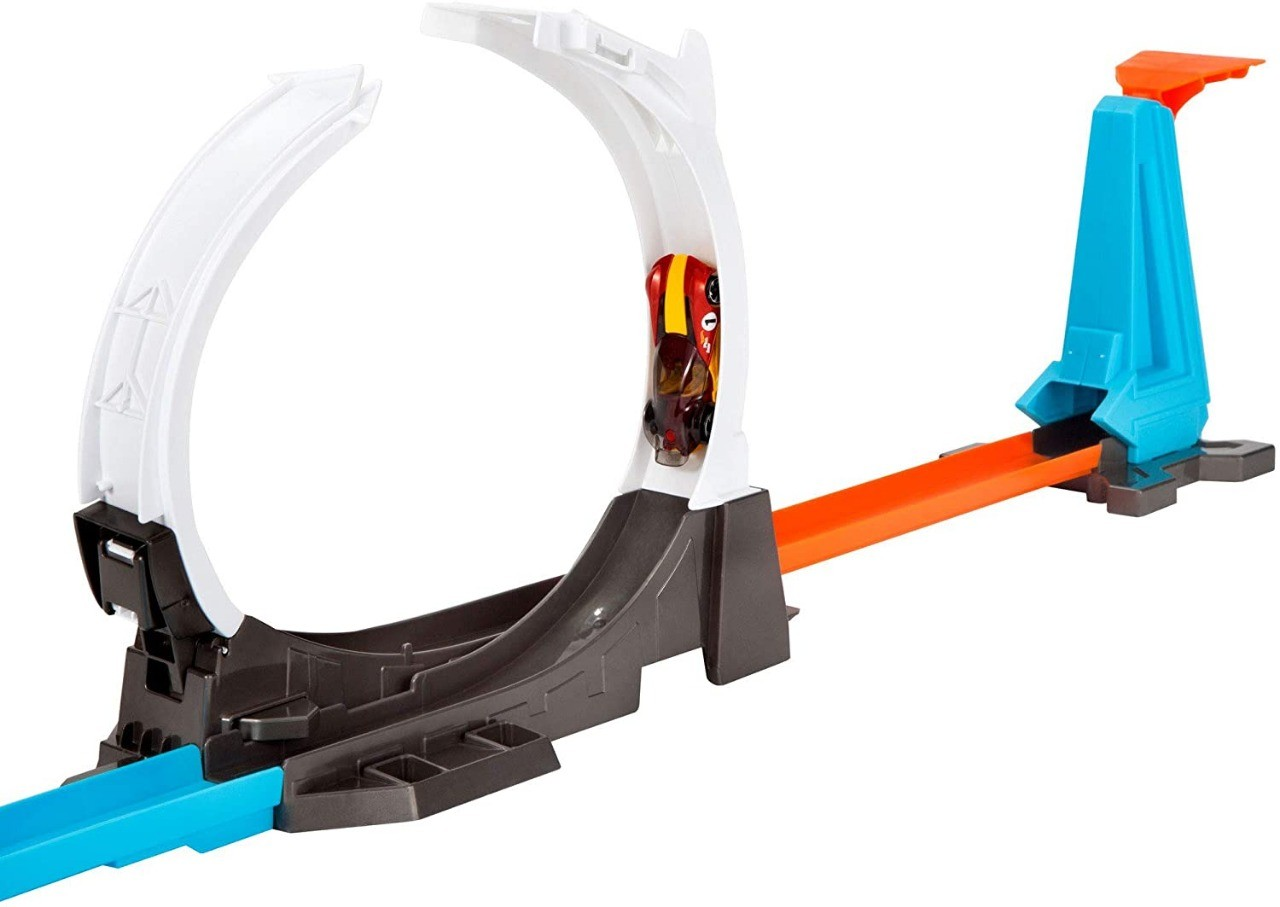 Conjunto Pista Hot Wheels Track Builder System Desafio Lançador