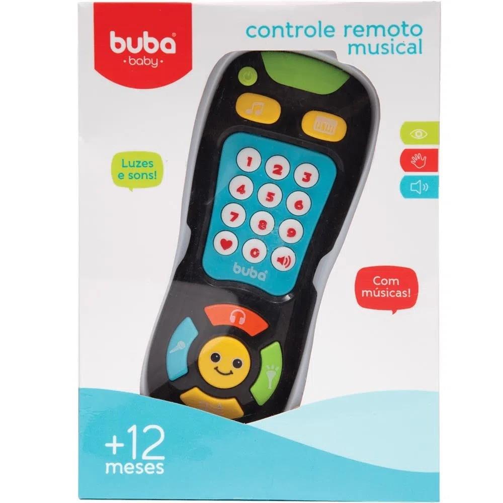 Controle Remoto Musical Com Luz e Som Buba