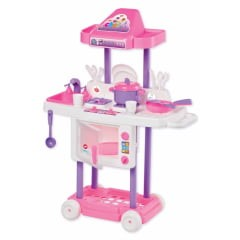 Cozinha Infantil Riva Chef Rosa Calesita