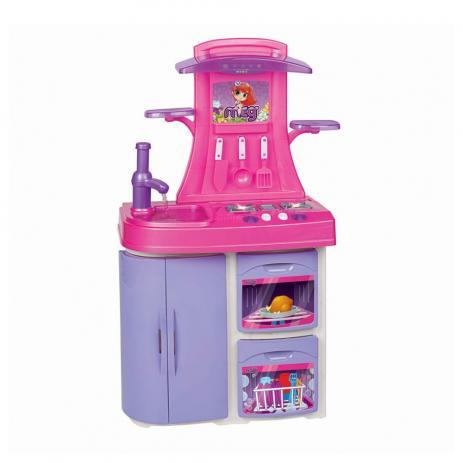 Cozinha Infantil Versatil Rosa Magic Toys