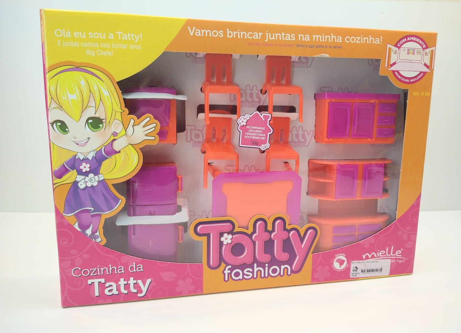 Cozinha Mini Infantil Da Tatty Fashion Com Ambiente Montável Mielle