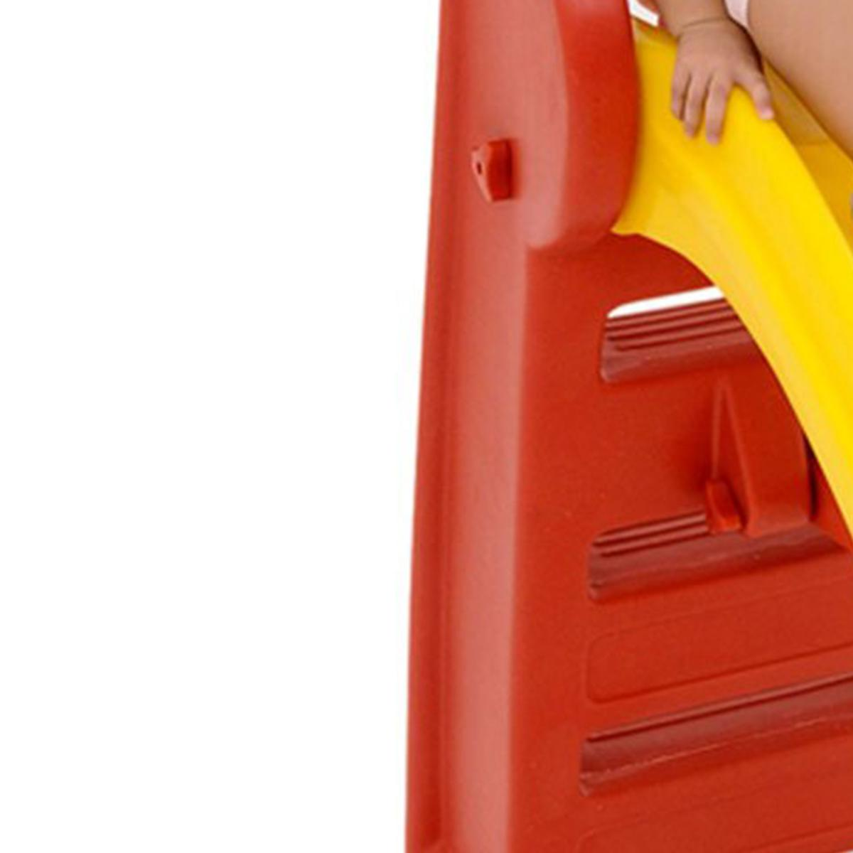 Escorregador Vermelho 03 Degraus Desmontável 0938.7 Xalingo