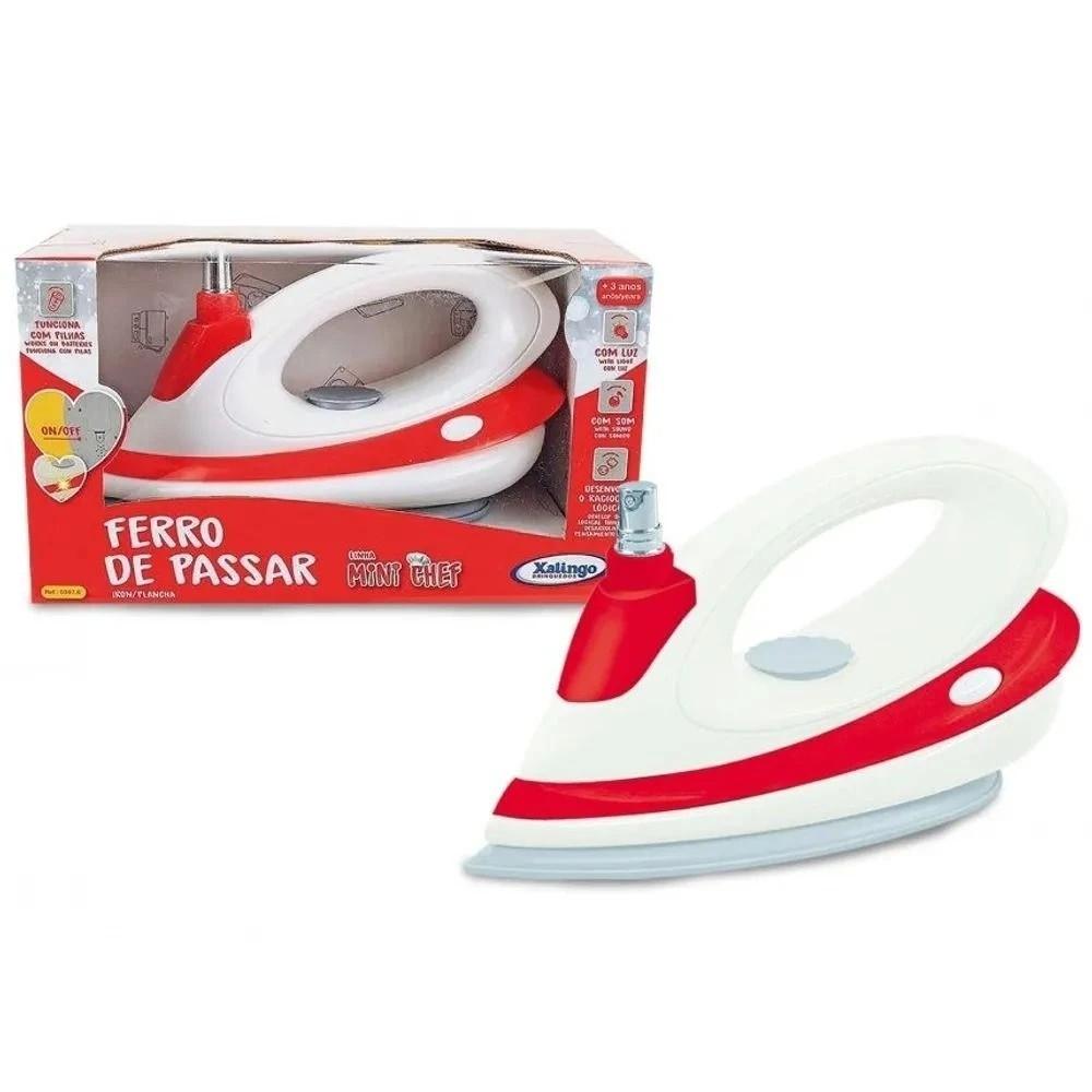 Ferro de Passar Mini Chef com Spray 03976 Xalingo