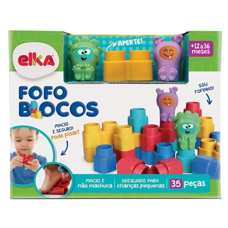 FOFO BLOCOS 25 PEÇAS - ELKA