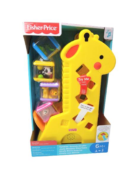 Girafinha Com Som E Blocos Divertidos Fisher-Price