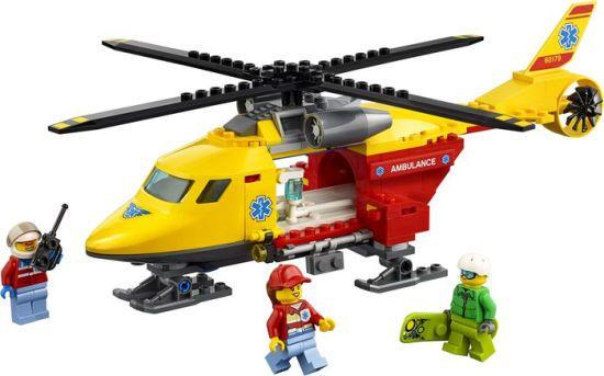 HELICOPTERO-AMBULANCIA LEGO