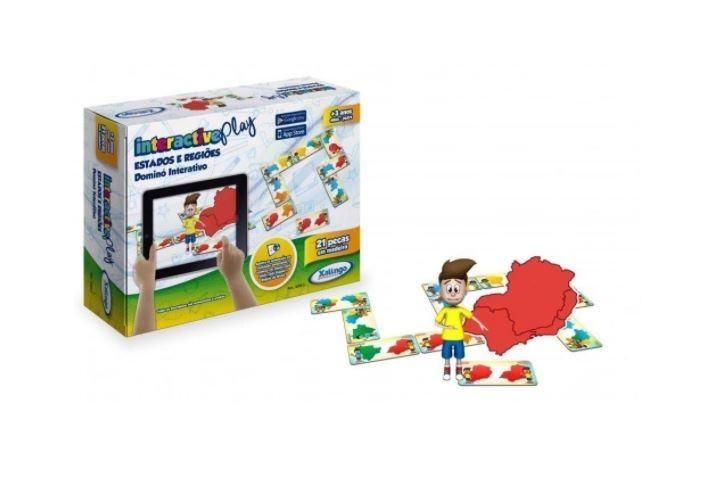 Interactive Play Dominó Estados e Regiões Do Brasil Xalingo