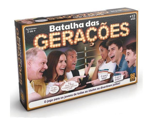Jogo Batalha Das Gerações Grow 03583