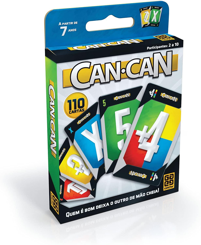 Jogo Can - Can 110 Cartas Grow