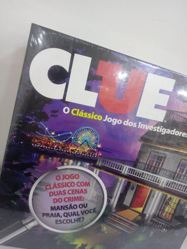Jogo Clássico dos investigadores Clue A5826 Hasbro