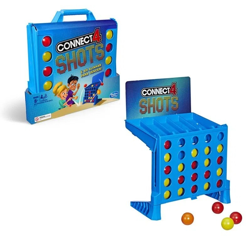 Jogo Connect 4 Shots E3578 Hasbro Gaming
