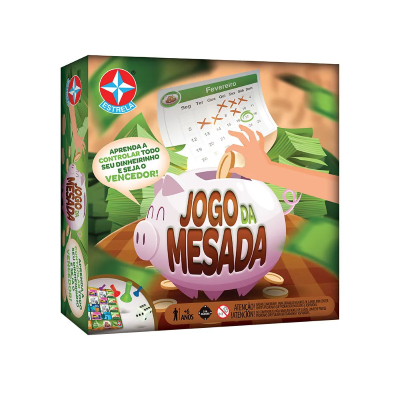 JOGO DA MESADA ESTRELA