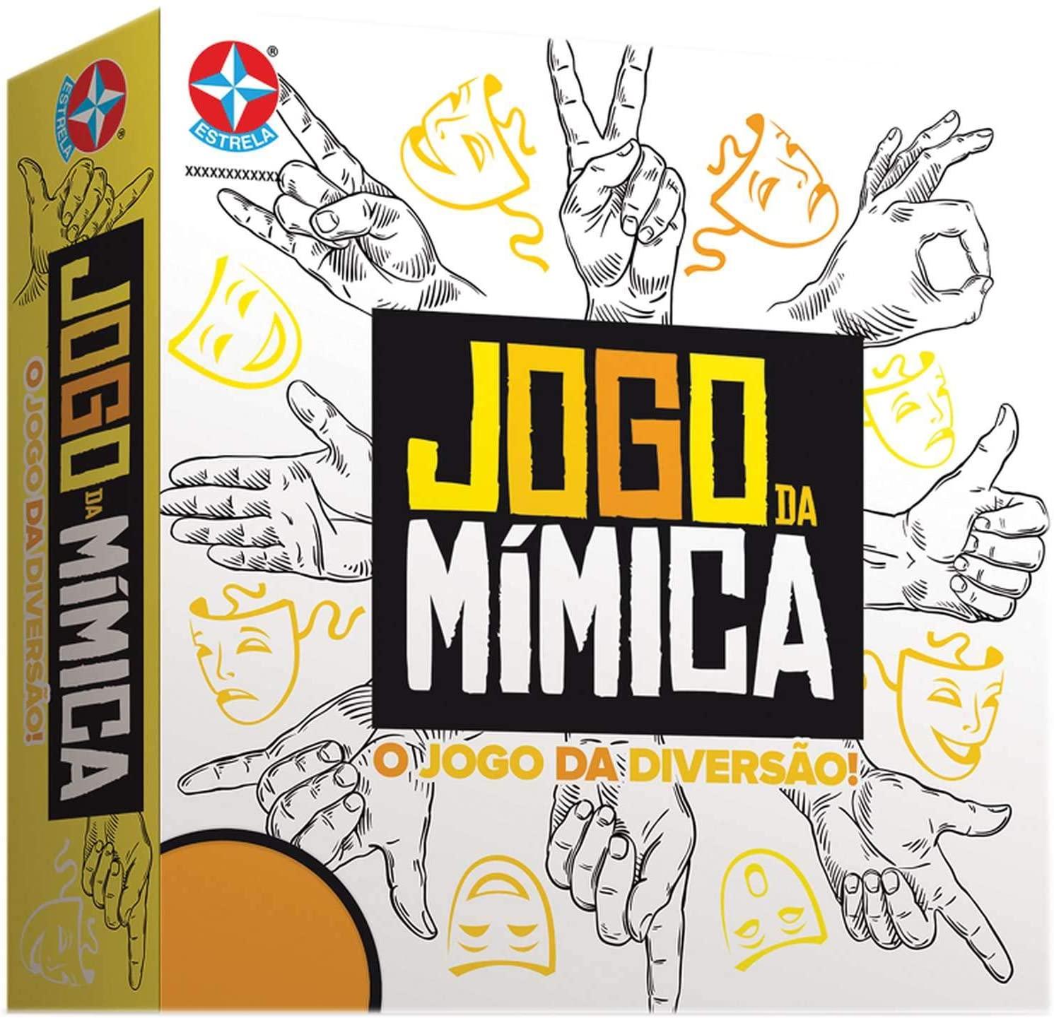 Jogo Da Mimica + Jogo Eu sou...? Jogos De Diversão Estrela