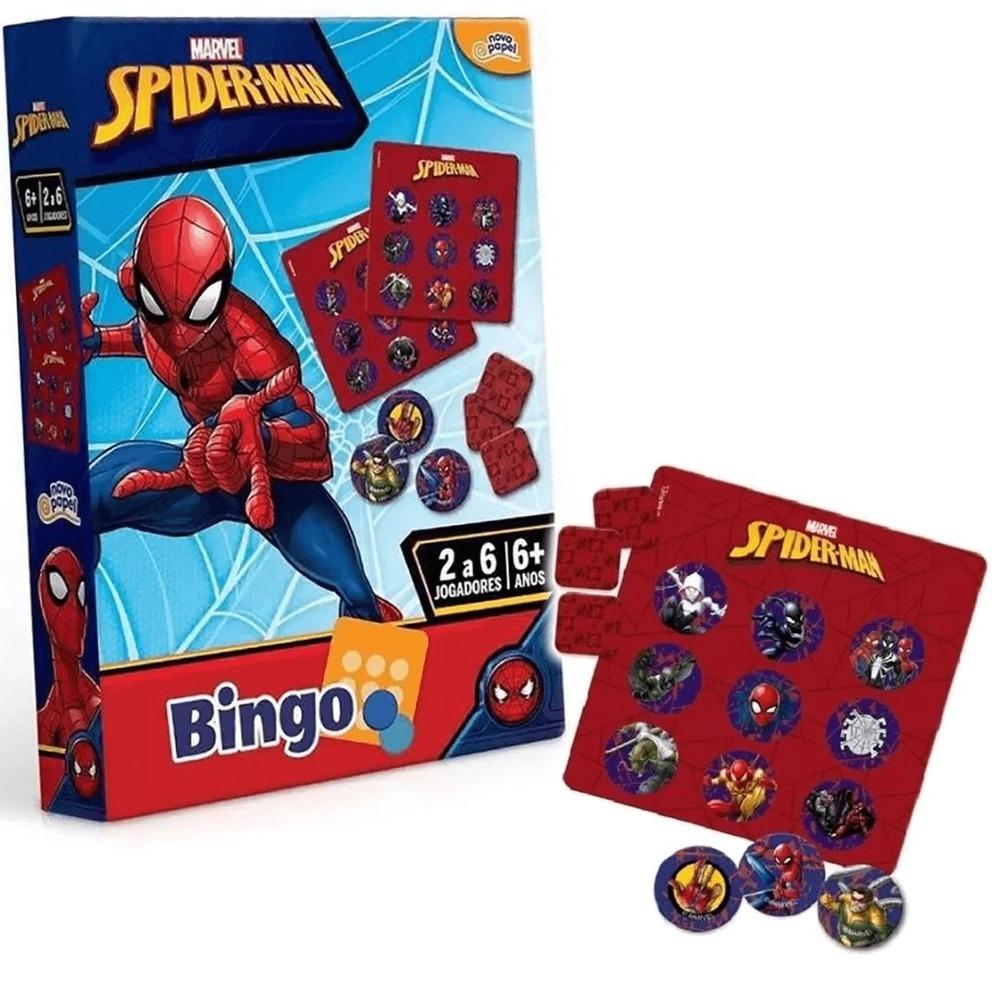 Jogo De Bingo Homem Aranha De 2 a 6 Jogadores 8017 Toyster