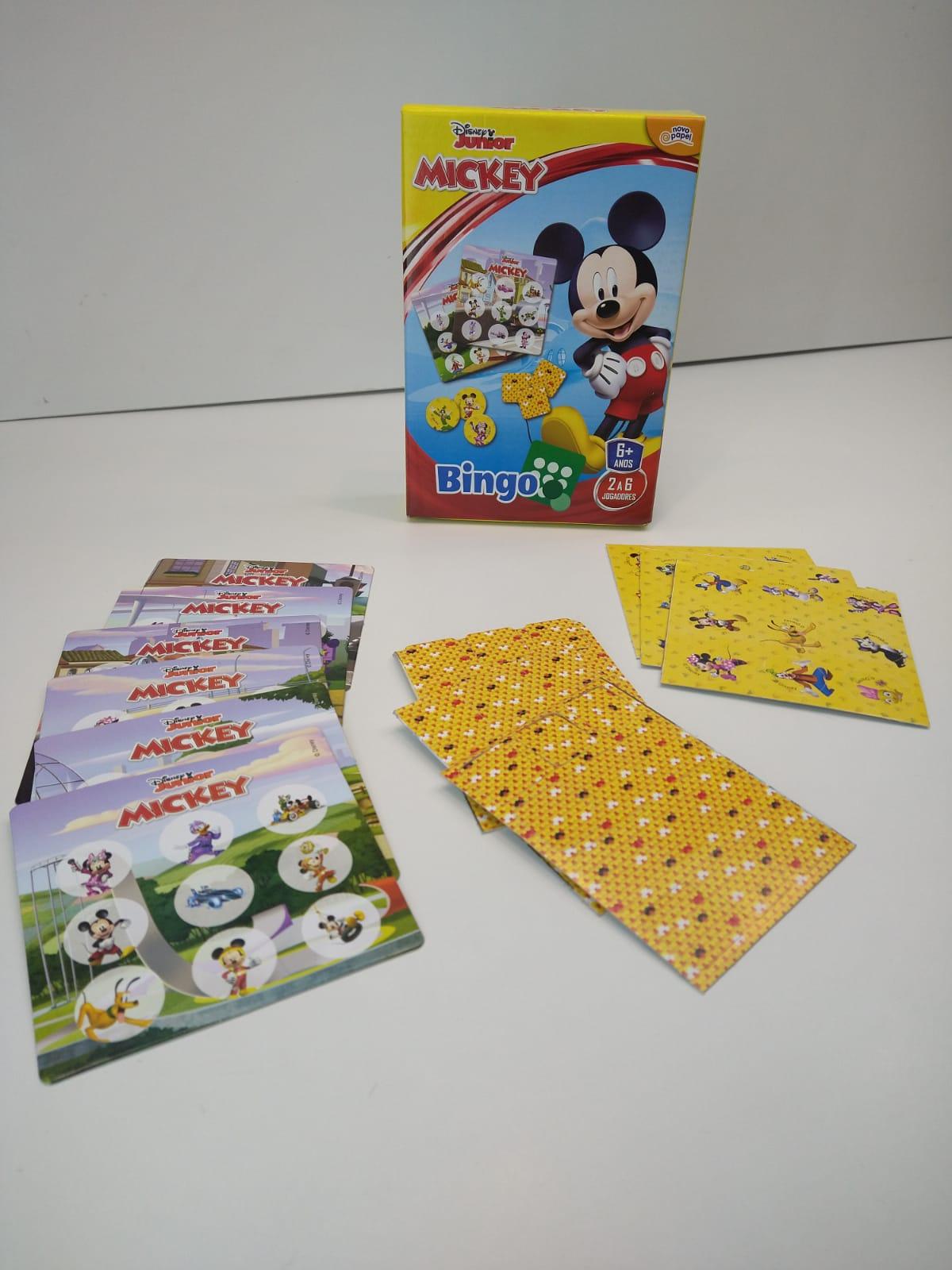 Jogo De Bingo Mickey Junior Disney De 2 a 6 Jogadores 8005 Toyster