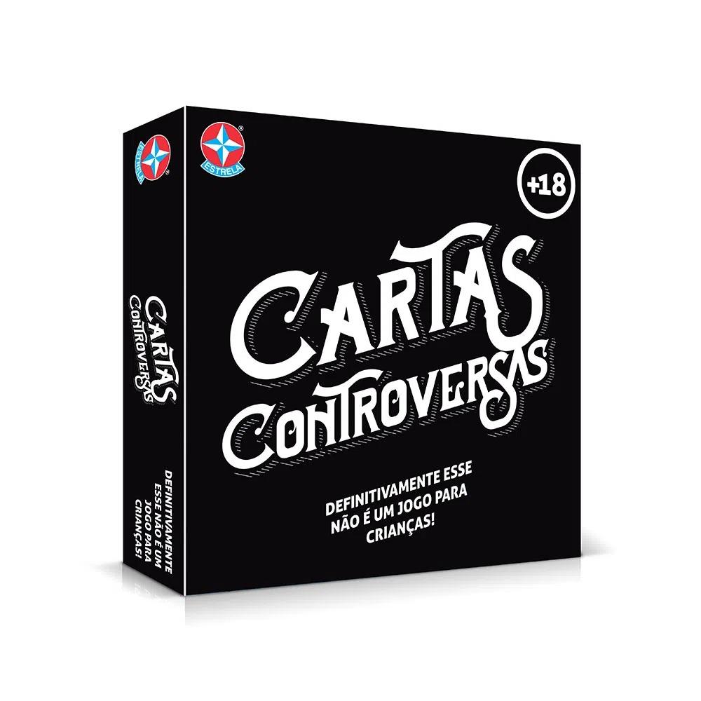 Jogo De Cartas Para Adultos Estrela Cartas Controversas +18