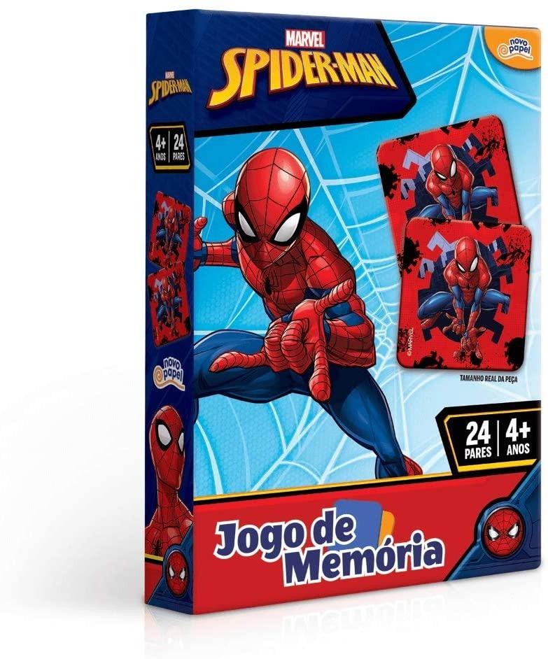 Jogo De Memória Homem Aranha 24 Pares 8016 Toyster