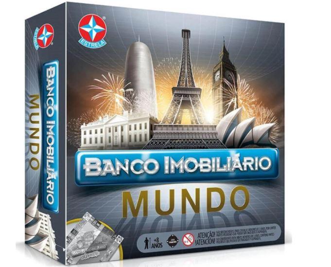 Jogo De Tabuleiro Banco Imobiliário Mundo Estrela