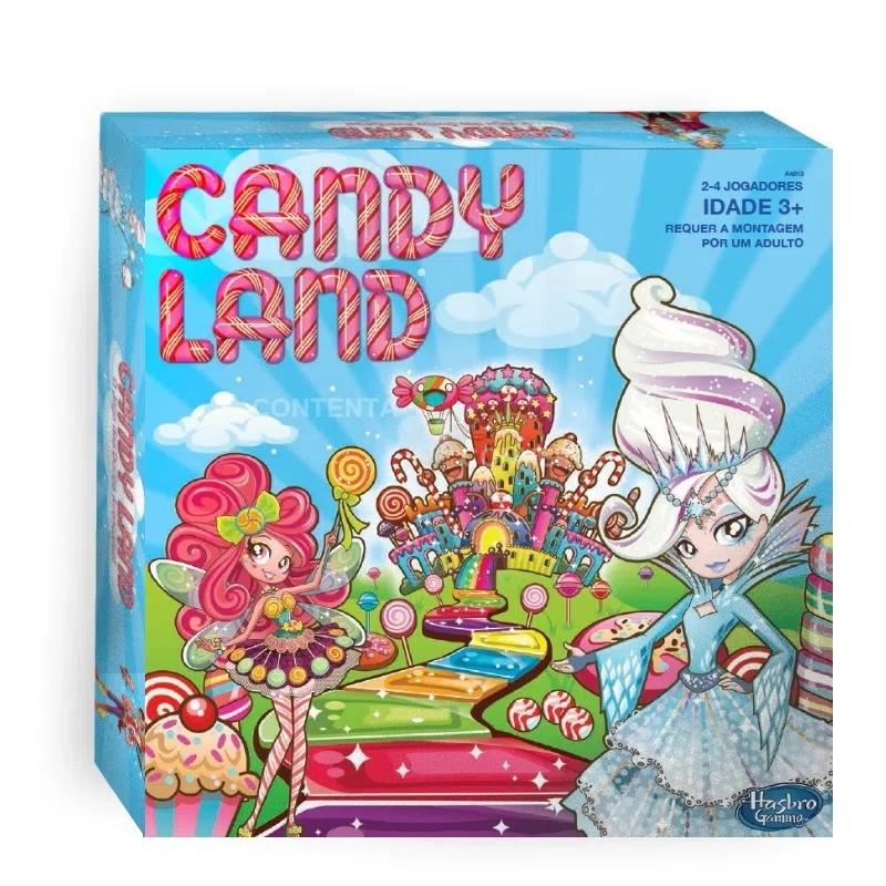 Jogo De Tabuleiro Candy Land Hasbro Gaming