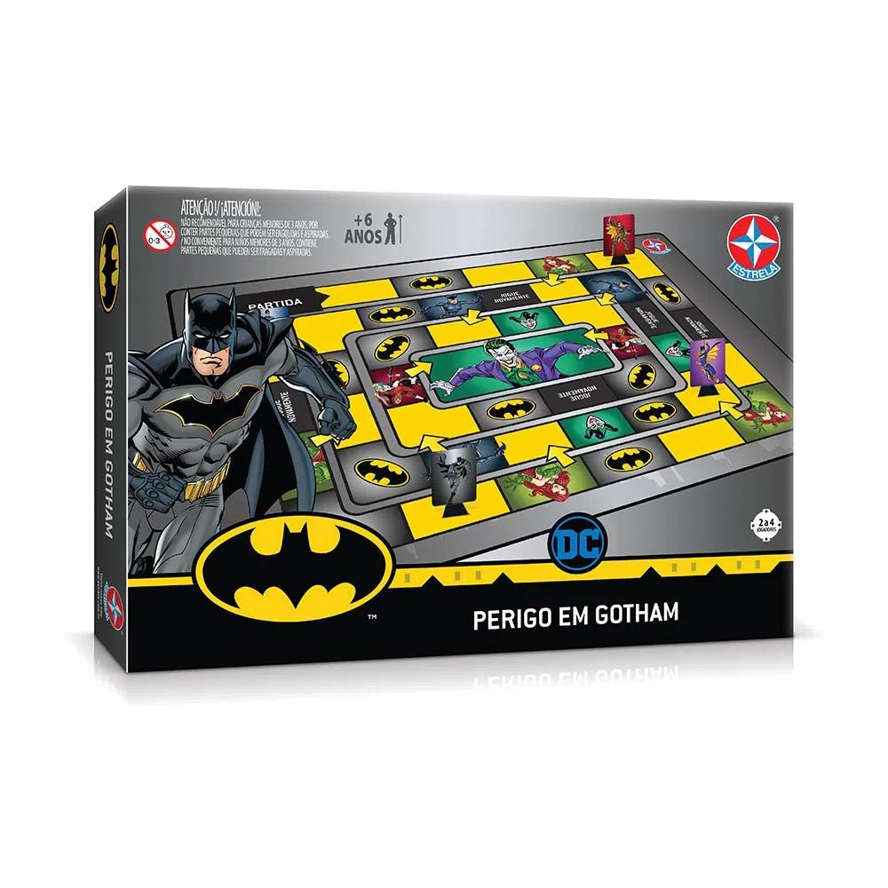 Jogo De Tabuleiro Do Batman Perigo Em Gotham Estrela