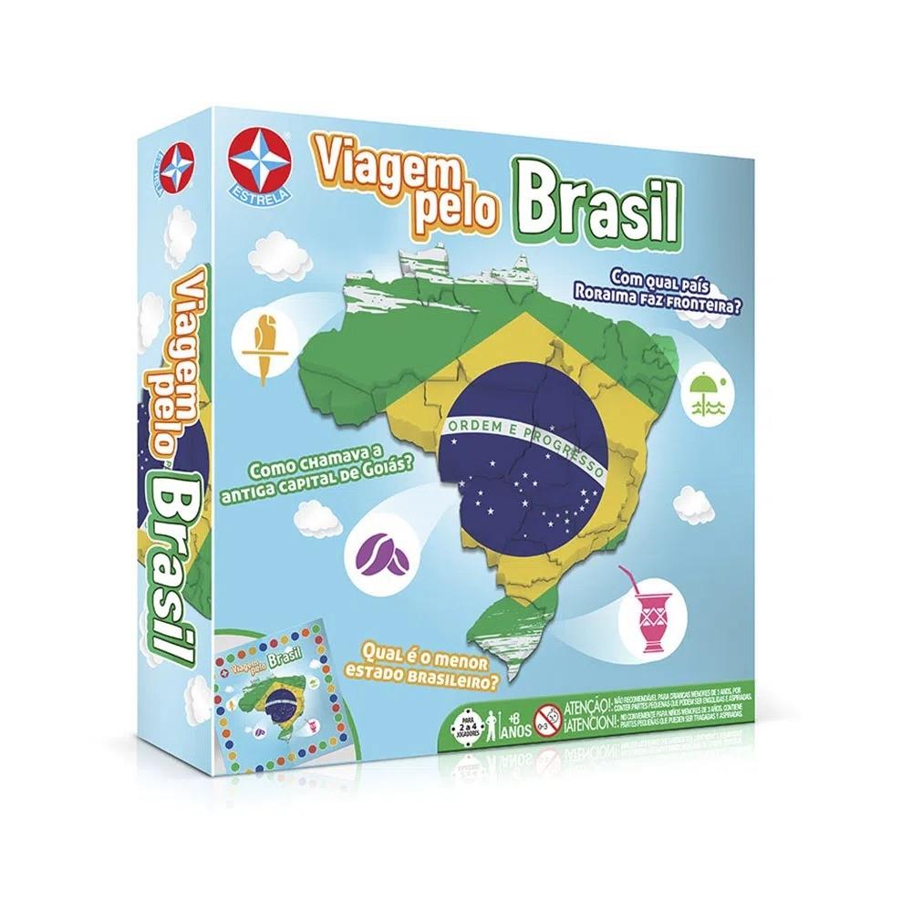 Jogo De Tabuleiro Para Apendizagem Viagem Pelo Brasil Estrela