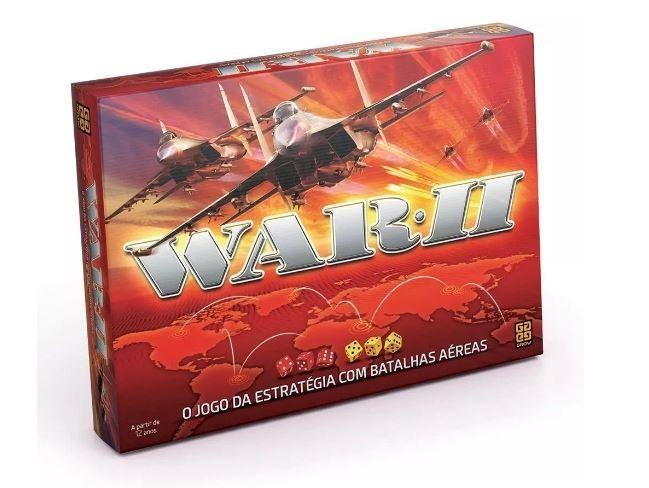 Jogo de Tabuleiro War 2 Grow