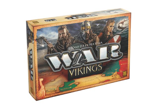 Jogo de Tabuleiro War Vikings O Jogo de Estratégia Grow