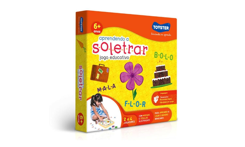 Jogo Educativo Aprendendo a Soletrar  2044 Toyster