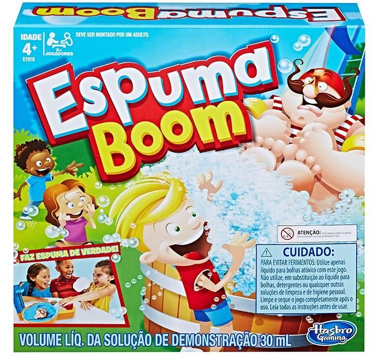 Jogo Espuma Boom Hasbro