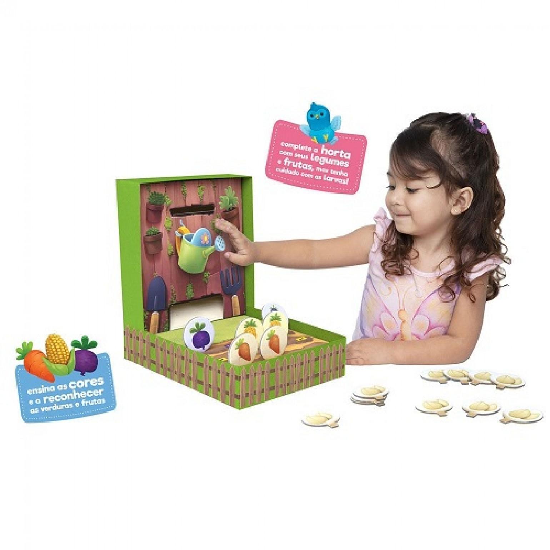 Jogo Minha Hortinha Meus Primeiros Jogos Toyster Brinquedos