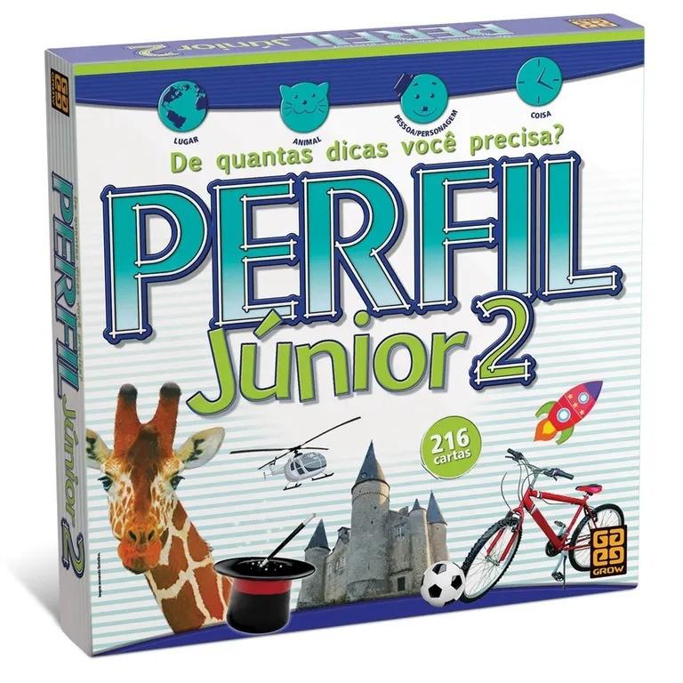Jogo Perfil Junior 2 - Grow