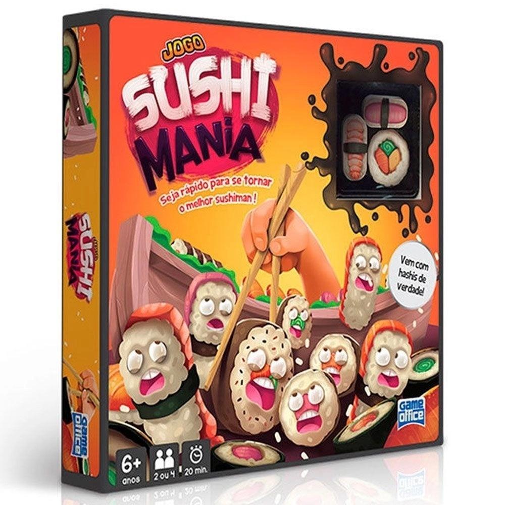 Jogo Sushi Mania Com Hashis De Verdade Game Ofice Toyster