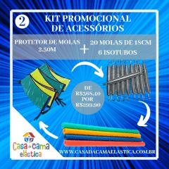 KIT DE ACESSÓRIOS - 2 / CASA DA CAMA ELÁSTICA
