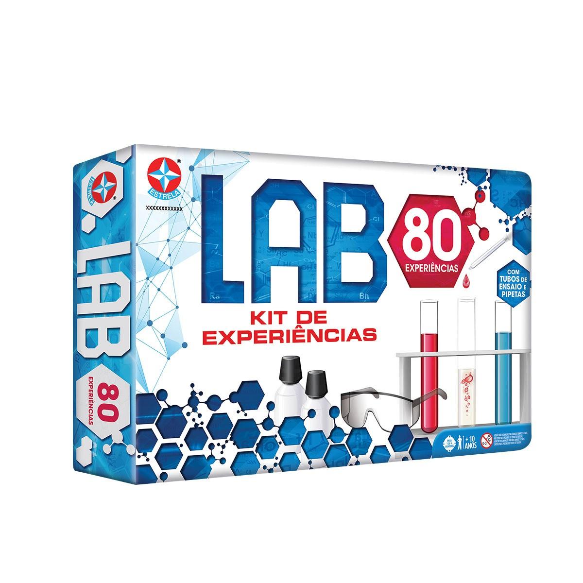Kit de Experiências Lab 80 Estrela