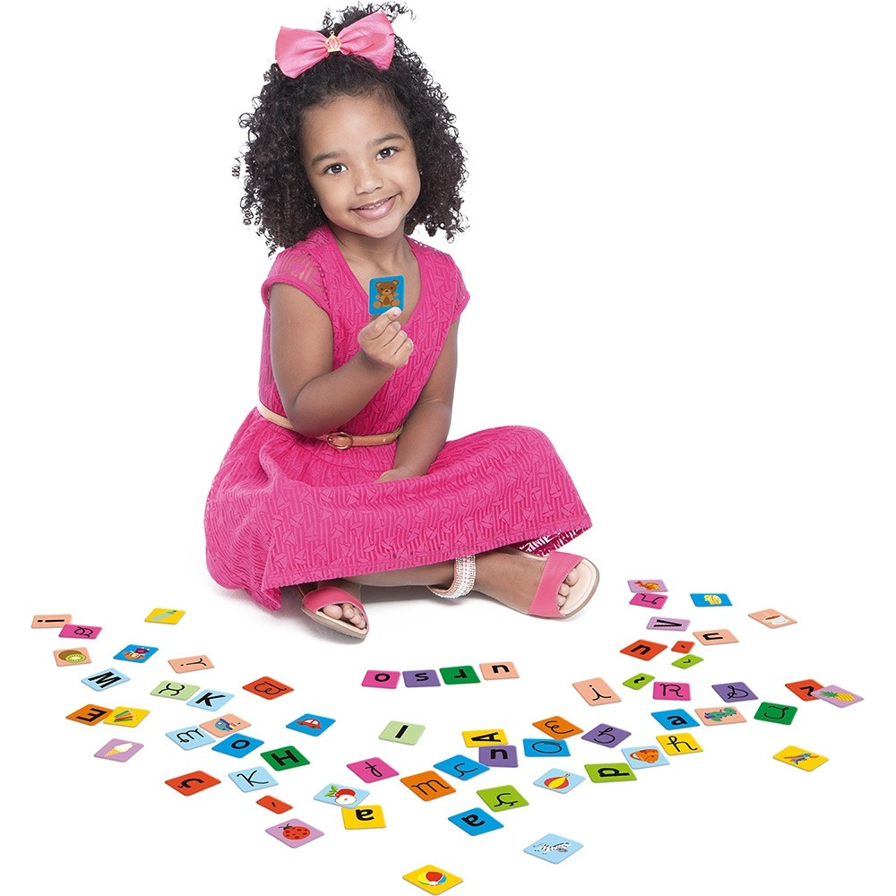 Kit Educativo 164 Peças Caixinha de Letras 2369 Toyster