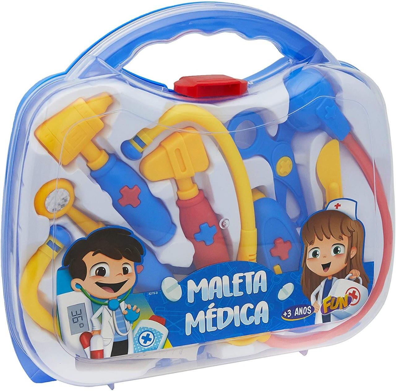 Kit Maleta Médica Infantil Fun