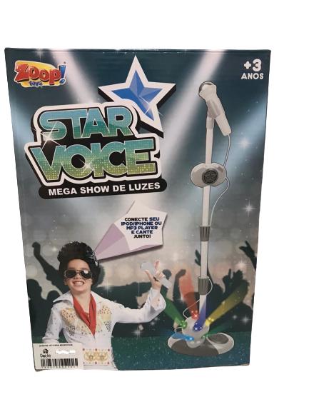 Kit Para Microfone Com Luzes Zoop Toys ZP00753
