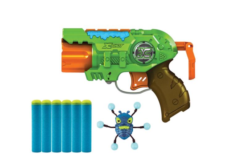 Lançador Bug Attack Predator 3 Disparos Com Alvo Inseto Candide