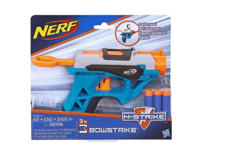 Lançador De Dardos Nerf Elite Bowstrike Hasbro