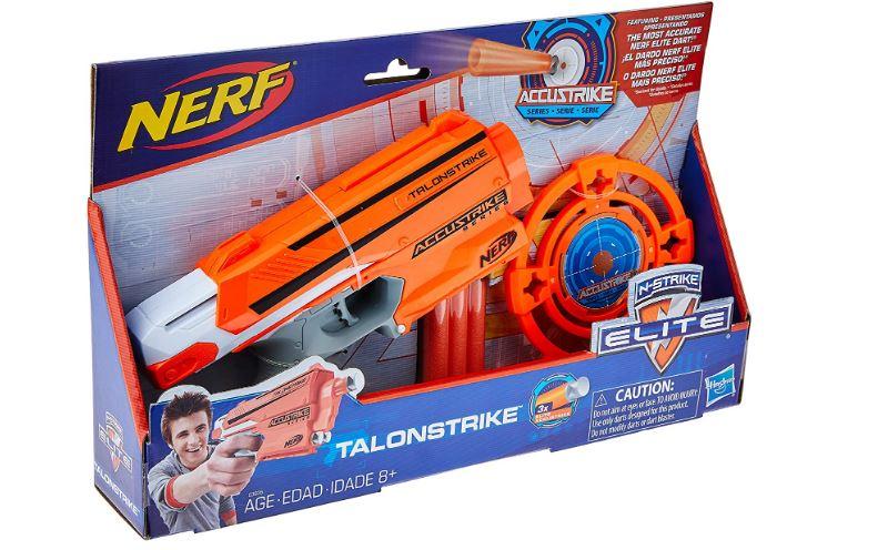 Lançador Nerf Accustrike Talonstrik Elite Com Alvo Hasbro