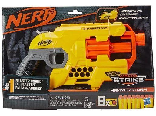 Lançador Nerf Alpha Strike Hammerstorm Habro