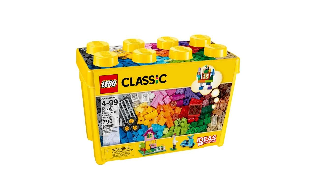 Lego Classic Caixa Grande De Peças Criativas 790 Peças 10698