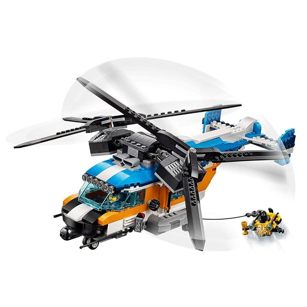 Lego Creator 3 em 1 Veiculo Helicóptero com 2 Hélices 31096