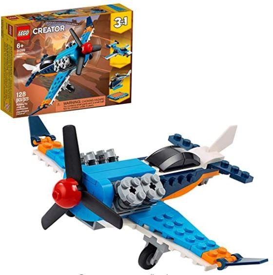 Lego Creator Avião de Hélice 3 em 1 31099